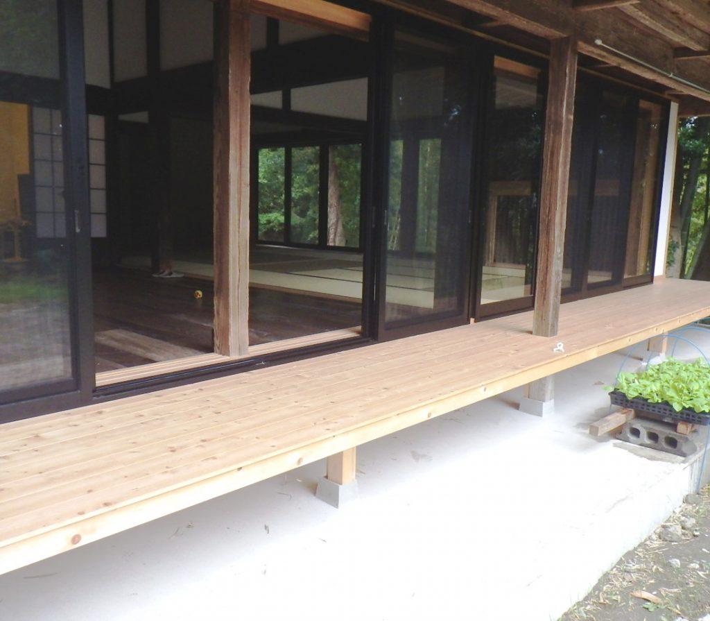 After 日本家屋の縁側!サザエさんのお家にもありますね(^^)