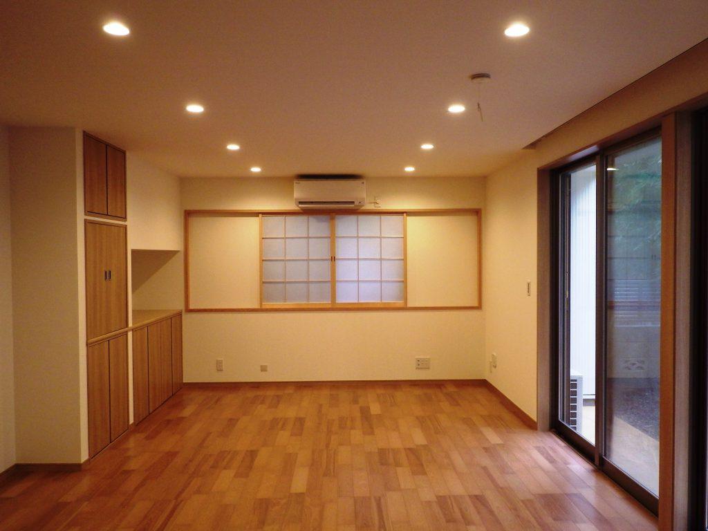 和風テイストの新築 二世帯住宅