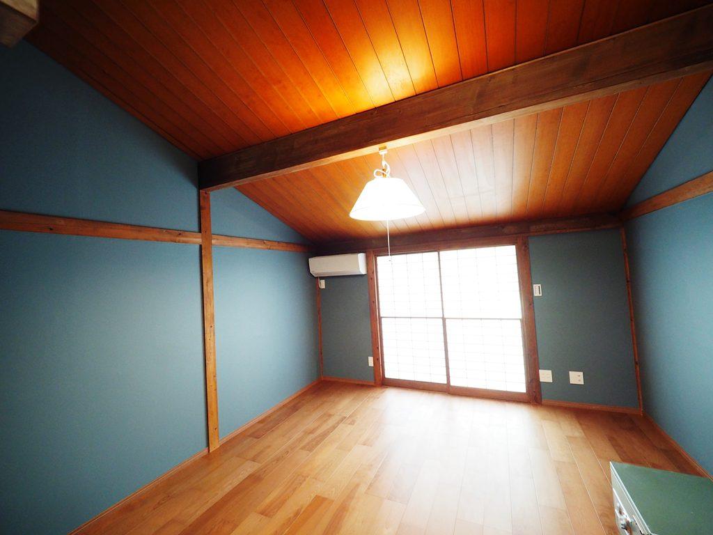 斜天井の居室