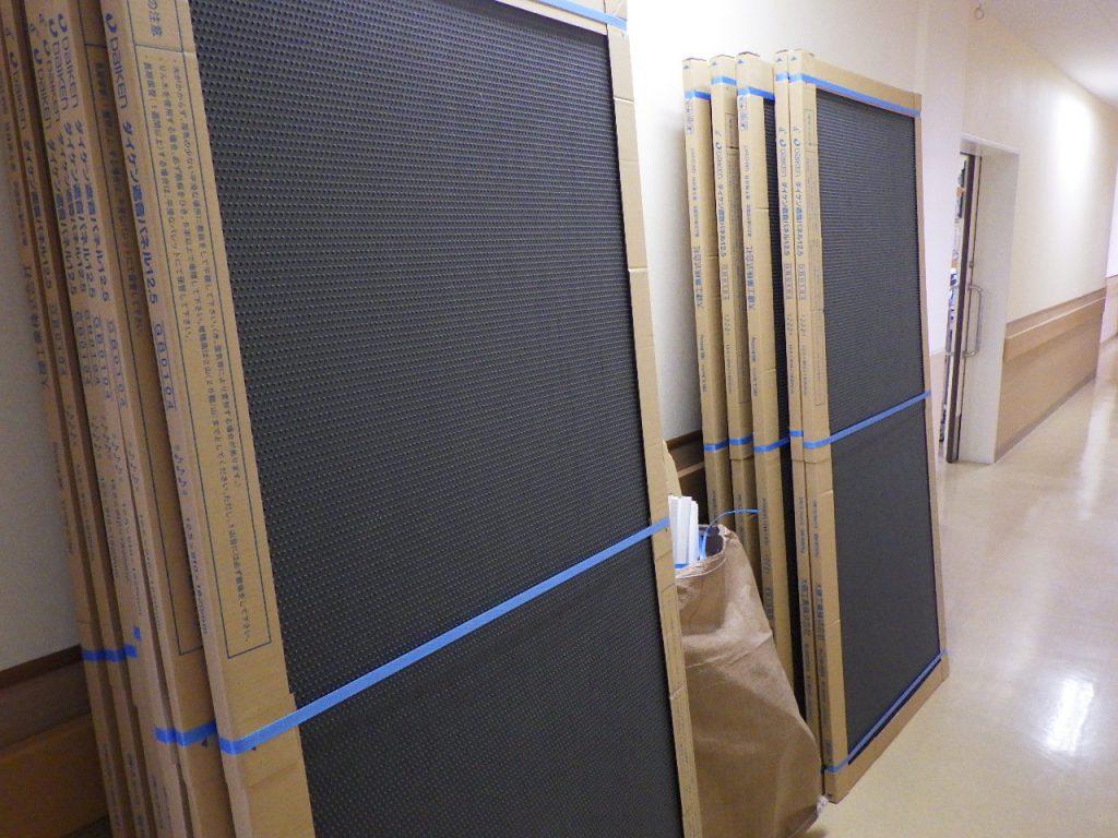 遮音ボードの施工