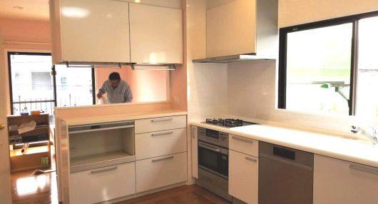 » 【施工実績】AEGの食洗機を搭載したカウンター収納付きキッチン!
