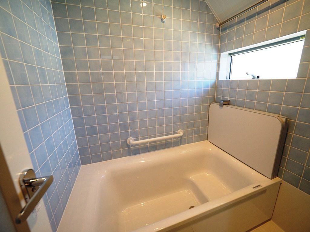 タイル貼りのお風呂