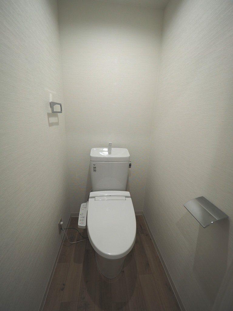 ウォシュレット付きトイレ♪